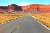 Monument Valley Route 163 — Stock Photo