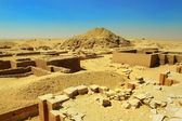 Excavations near Dioser pyramid — Stock Photo