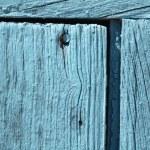 Old grunge weathered blue door woodden texture — Stock Photo #45016835