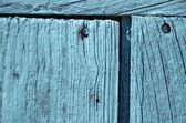 Old grunge weathered blue door woodden texture — Stock Photo