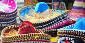 Chapeaux sombrero mexicain — Photo