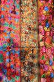 Traditional handmade material — Stock Photo