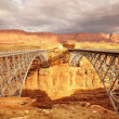 Navajo Bridge Marble Canyon — Stock Photo #47582079
