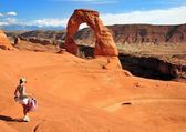 Delicate Arch — Stock Photo