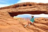 Mesa Arch Canyonlands National Park — Stock Photo