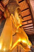 Golden Buddha Temple Wat Pho Bangkok Thailand  — Stock Photo