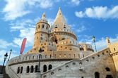 Fishermans Bastion — Stock Photo