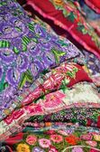"""Mexico, Merida - March 28th, 2014: """"Oaxaca in Merida"""" - Food and Handcrafts Event. Mexican traditional material handmade — Stock Photo"""