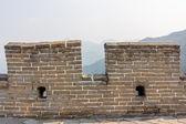 中国的长城的细节 — 图库照片