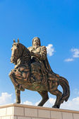Statue of Genghis Khan at the Mausoleum — Stock Photo