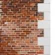 Renaissance brick wall — Photo