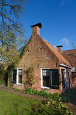 Old picturesque house in the Netherlands — Stock Photo