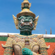 Dhosa Kiridhorn, statue guarding at Grand Palace, Bangkok - Stock Photo