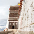 Side entrance into Potala palaca — Stock Photo