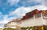 The Potala palace in the morning sun — Stock Photo
