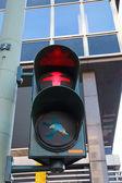 Characteristic Berlin pedestrian light — Stok fotoğraf