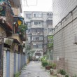 Back street in Chengdu, China — Stock Photo