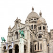 Sacre Coeur Basilica close-up, Paris, France — Stock Photo #21564531