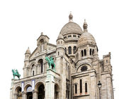 Sacre Coeur Basilica close-up, Paris, France — Stock Photo