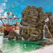 Pirate island — Stock Photo