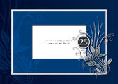 25 th anniversary — Vector de stock