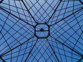 Gamla takkonstruktion — Stockfoto