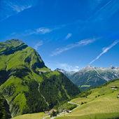 Impressing alpine landscape — Stock Photo