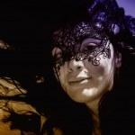 Masked girl — Stock Photo #11384447
