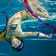 Somersault under Water — Stock Photo