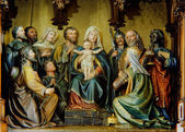 Figure group Christ Birth — Stock Photo