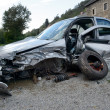Stock Photo: Car wreck