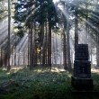 Mystical stone monument — Stock Photo