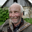 Kindly old farmer — Stock Photo