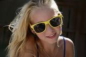 портрет летняя девочка-подросток — Стоковое фото