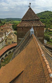 Fortified church from Valea Viilor — Stock Photo