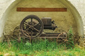 Alte dampfmaschine — Stockfoto