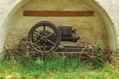 Stará parní stroj — Stock fotografie