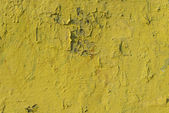 Old yellow paint texture — Stock Photo