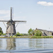 Traditional dutch windmill — Stock Photo #11504013