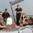Sailing on the IJsselmeer in the Netherlands - Photo