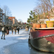 Winter in Amsterdam Netherlands — Stock Photo #13419762