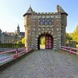 Medieval castle De Haar in the Netherlands — Stock Photo