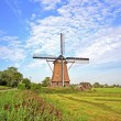 Traditional windmill in the countryside from the Netherlands — Stock Photo #14632129