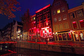 Red Light District in Amsterdam the Netherlands — Stock Photo
