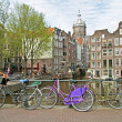 Stock Photo: City scenic from Amsterdam in the Netherlands