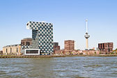 City scenic from Rotterdam in the Netherlands — Foto Stock