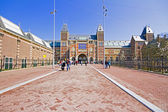 Newly restored Rijksmuseum in Amsterdam the Netherlands — Stock Photo