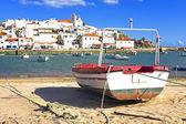 гавань феррагудо в португалии — Стоковое фото