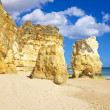 Praia da Rocha in the Algarve Portugal — Stock Photo