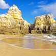 Praia da Rocha in the Algarve Portugal — Stok fotoğraf